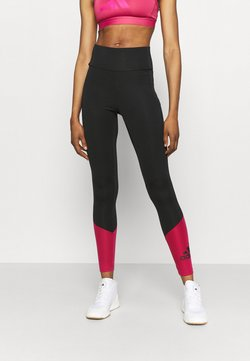adidas Performance - Tights - black/wilpink