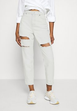 Topshop Petite - MOM - Jeans Relaxed Fit - bleach