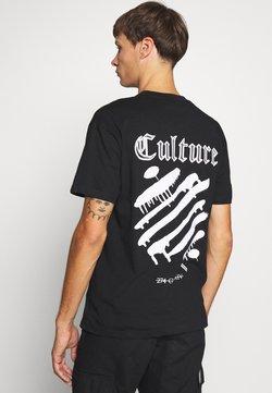 274 - CULTURE TEE - T-shirt print - black