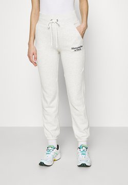 Abercrombie & Fitch - LOGO - Jogginghose - light grey