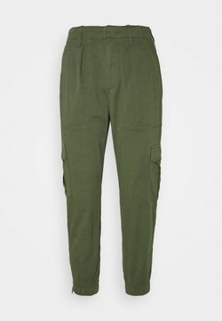 GAP Petite - CARGO UTILITY JOGGER - Cargo trousers - olive