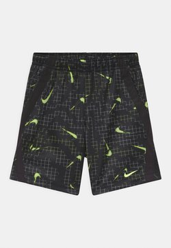 Nike Sportswear - GLOW IN THE DARK  - Shorts - black