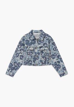 Calvin Klein Jeans - JACKET GIRLS FLOWER - Denim jacket - denim