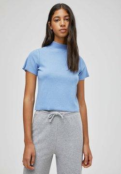 PULL&BEAR - T-shirt basic - mottled blue