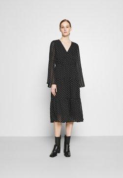 YAS - YASDORTHE DRESS  - Freizeitkleid - black/ white