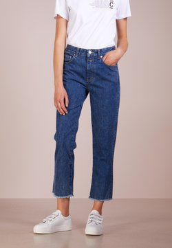 CLOSED - GLOW RELAXED FIT - Jeans a sigaretta - dark blue