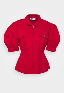 HOSBJERG - TYLER - Button-down blouse - red