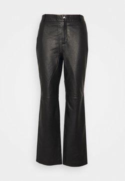 Object Tall - OBJSTEPHANIE L PANT TALL - Trousers - black