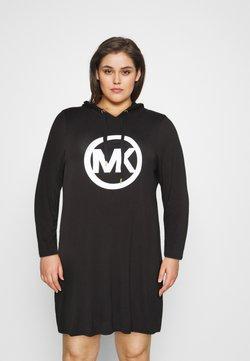 MICHAEL Michael Kors - CIRCLE HOODIE DRESS - Day dress - black