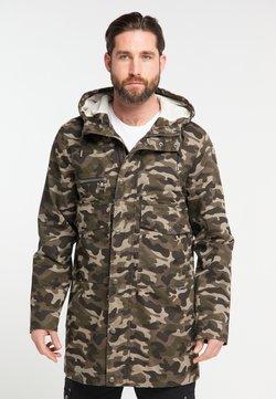 DreiMaster - Wintermantel - camouflage