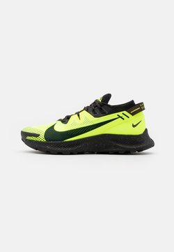 Nike Performance - PEGASUS TRAIL - Zapatillas de trail running - volt/black/baroque brown