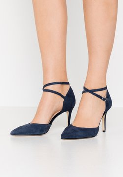 Anna Field - LEATHER PUMPS - High Heel Pumps - dark blue
