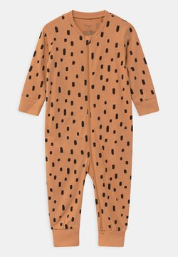 Lindex - CAT AT BACK UNISEX - Pyjama - dark beige