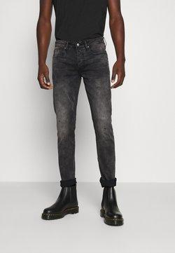 Tigha - MORTY STONE WASH - Jeans Slim Fit - vintage black