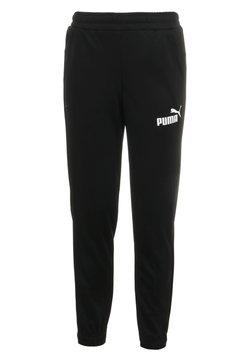 Puma - LOGO PANTS - Jogginghose - black