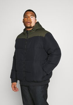 Only & Sons - ONSBOSTON BLOCK  HOOD  - Winterjacke - dark navy/colourblock