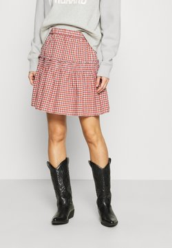 Madewell - SMOCKED MINI SKIRT  - Minirock - pale dawn