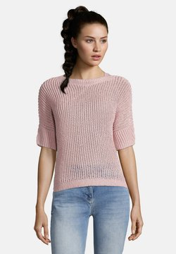 Betty Barclay - MIT 3/4 ARM - T-Shirt basic - coral blush