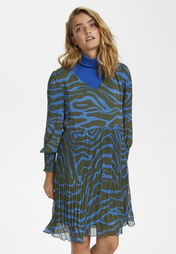 Denim Hunter - Freizeitkleid - blue zebra print