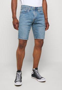 Levi's® - SLIM SHORT - Jeans Shorts - blue denim