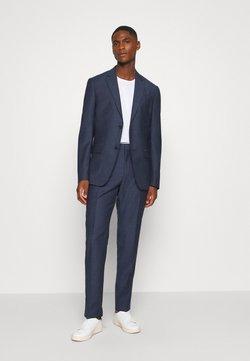 Calvin Klein Tailored - SPECKLED SUIT - Anzug - blue