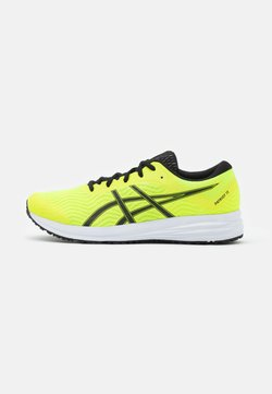 ASICS - PATRIOT 12 - Obuwie do biegania treningowe - safety yellow/black