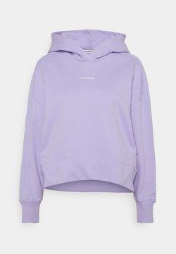 Calvin Klein Jeans - MICRO BRANDING HOODIE - Sweatshirt - palma lilac