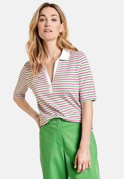 Gerry Weber - Poloshirt - lila/pink/grün ringel