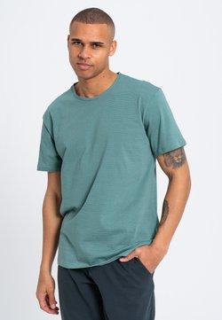 recolution - T-Shirt print - light / dark eukalyptus
