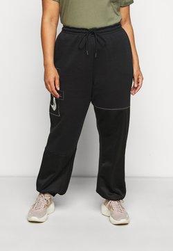 Nike Sportswear - PANT - Verryttelyhousut - black/metallic silver