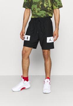Jordan - AIR - Pantalón corto de deporte - black/white