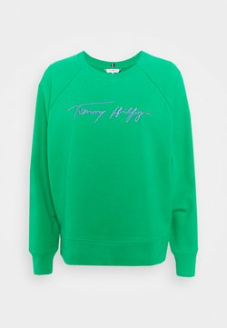 Tommy Hilfiger - RELAXED SCRIPT - Sweatshirt - primary green