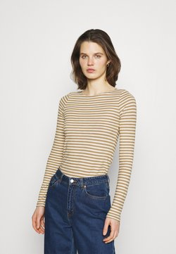Marc O'Polo - LONG SLEEVE NECK - Langarmshirt - mutli/sandy beach