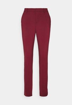 Vero Moda Tall - VMLEAH MR CLASSIC PANT - Broek - cabernet