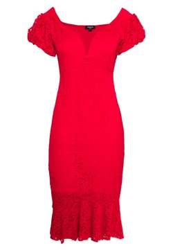 Simply Be - BODYCON DRESS - Juhlamekko - red