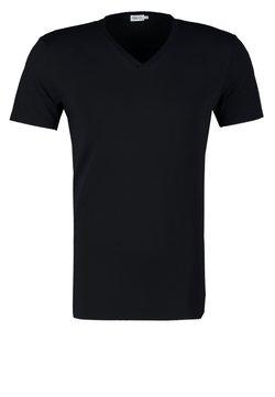 Filippa K - SOFT LYCRA NECK - T-Shirt basic - navy