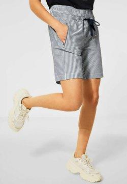 Street One - MIT ZIPPER - Shorts - blau