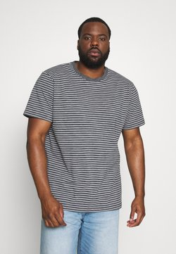Urban Classics - BASIC STRIPED TEE - T-Shirt print - charcoal