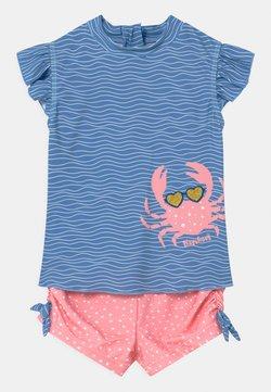 Playshoes - UV-SCHUTZ SET - Badpak - blau/pink