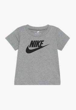 Nike Sportswear - FUTURA TEE BABY - T-shirt print - dark grey heather