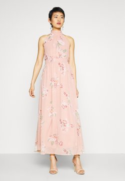 Vero Moda - VMLOVELY HALTERNECK LONG DRESS - Maxi-jurk - misty rose