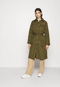 Soft Rebels - SRSTINNA QUILT COAT - Classic coat - dark olive