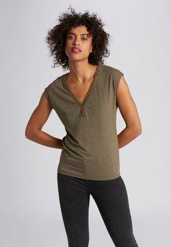 Morgan - T-Shirt print - khaki