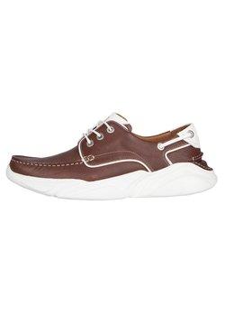 TJ Collection - Chaussures bateau - tan