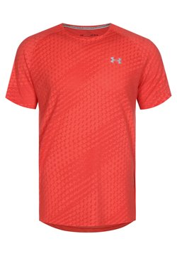 Under Armour - STREAKER RUNCLIPSE  - T-Shirt print - red