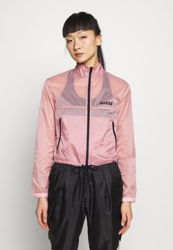 Guess - CROPPED - Windbreaker - pink
