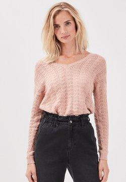BONOBO Jeans - LANGARM - Strickpullover - vieux rose