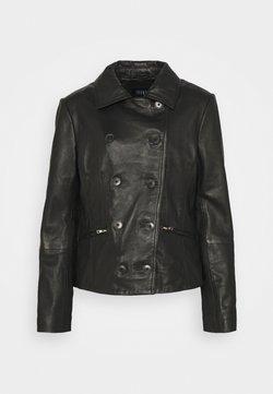 Ibana - JARA - Leather jacket - black