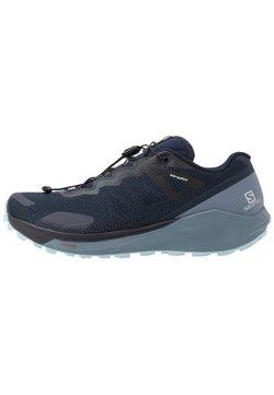 Salomon - SENSE RIDE 3 - Zapatillas de trail running - navy blazer/flint