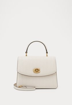 Coach - QUILTING PARKER TOP HANDLE - Torebka - chalk